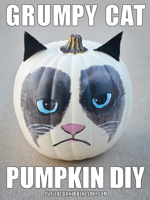 grumpy-cat-pumpkin-DIY