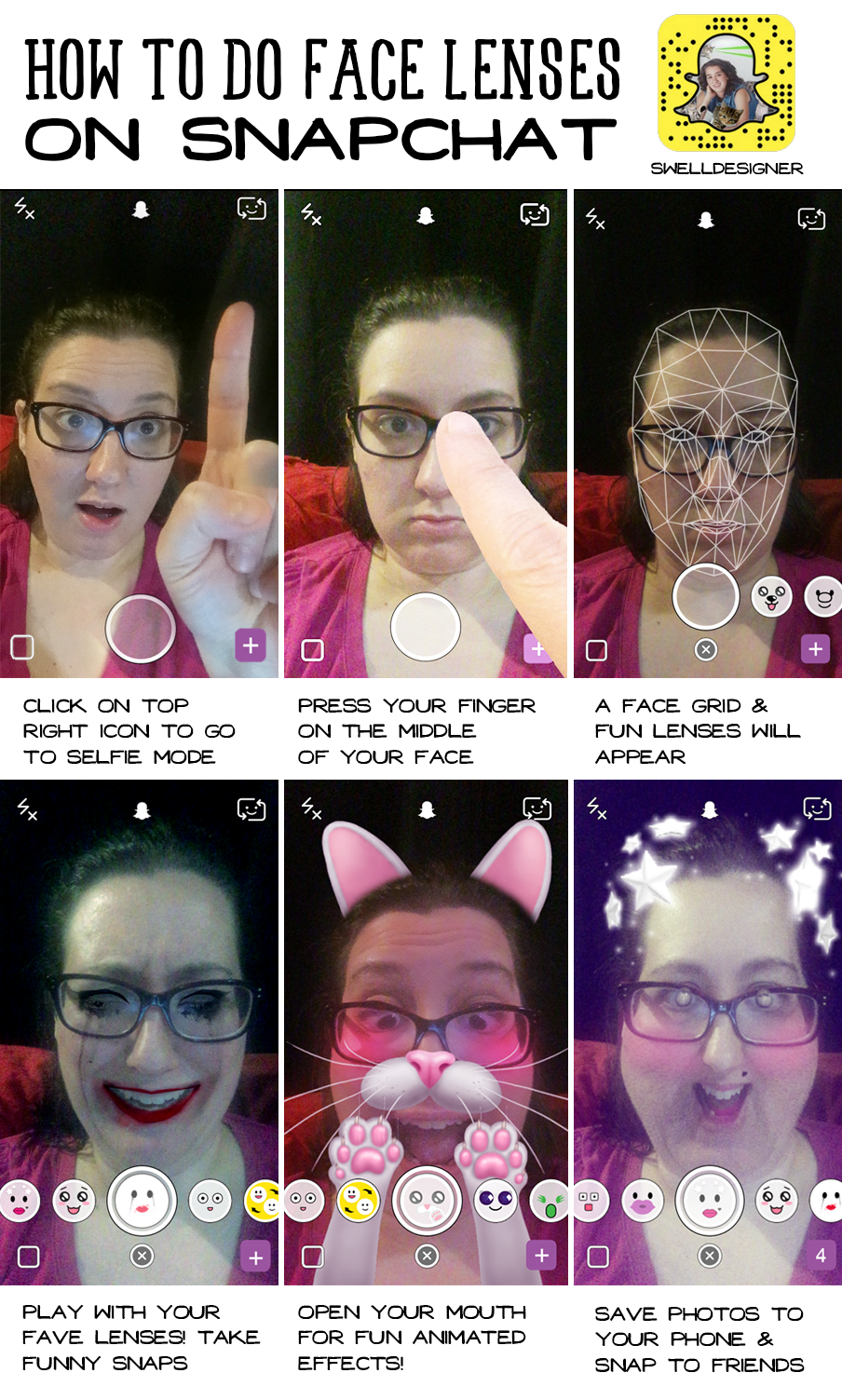 how-to-do-faces-lenses-on-snapchat