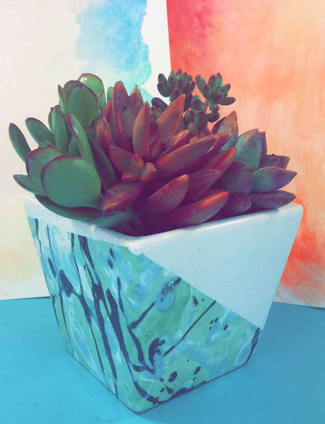 dipped-planter