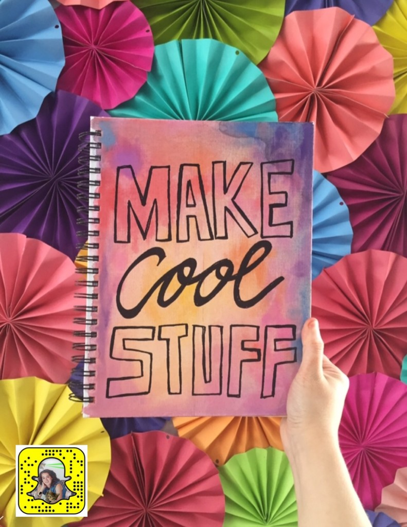 make cool stuff watercolor journal
