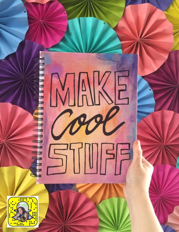 cool stuff watercolor journal