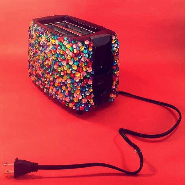 rhinestone toaster
