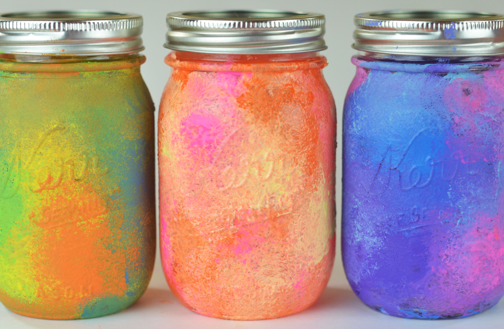 Mason Jar Diy Part - 31: Galaxy-tie-dye-mason-jars-diy