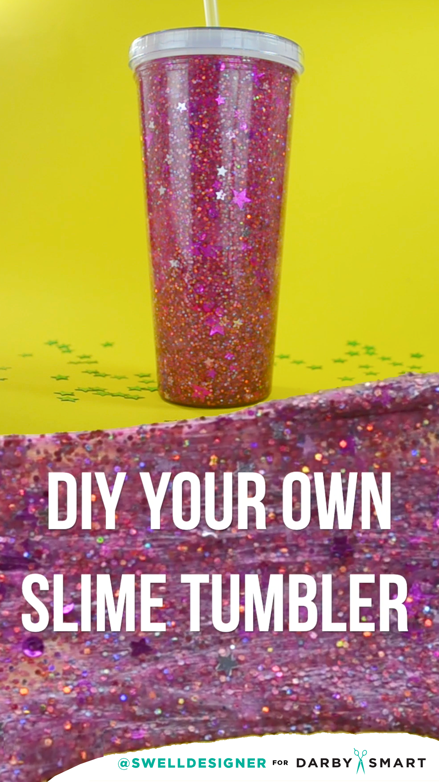 how to make your own transparent slime