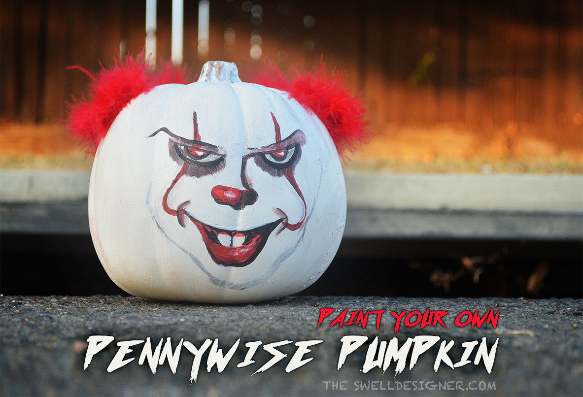 how-to-make-a-pennywise-pumpkin